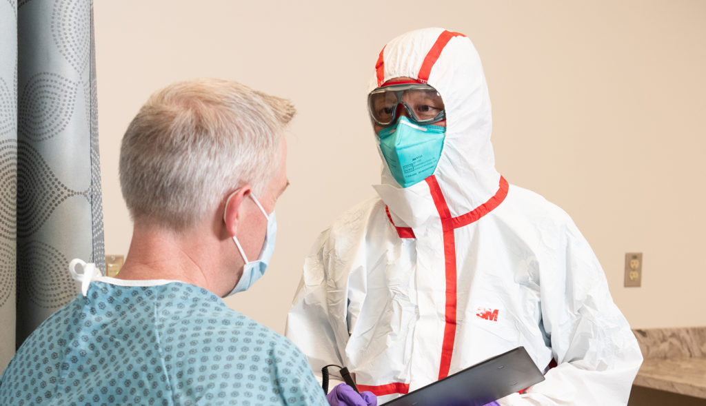 VLOG: Fluid Resistance Testing for Surgical Masks and Respirators